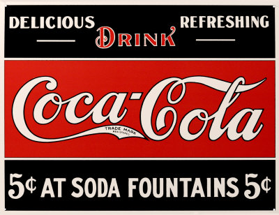 An early ad for Coca-Cola