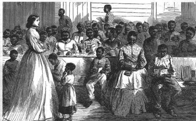 an examination of the life of the african americans in america during the reconstruction era