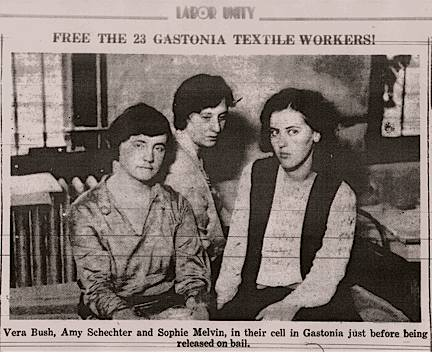 Gastonia Strike Photo, 1929