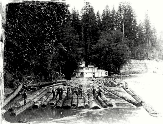 Logging Tug in Washington