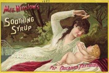 Winslow's Soothing Syrup Ad
