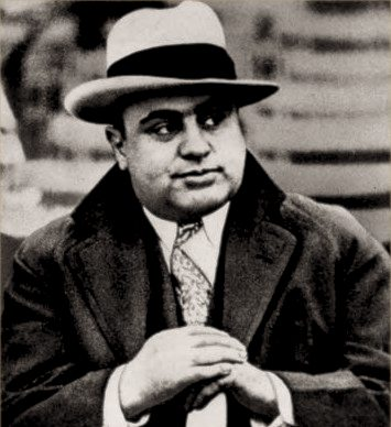 Al Capone during Prohibition