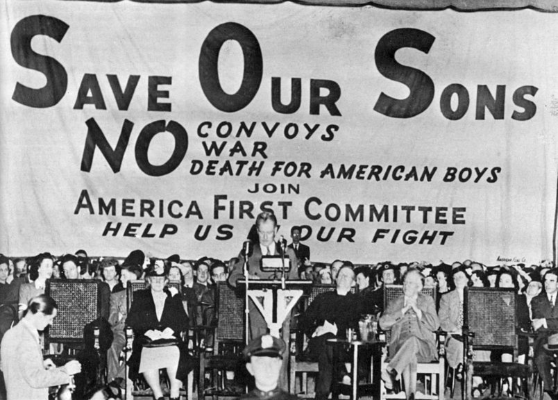 Image result for america first pre wwii logo