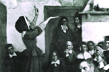 Depiction of Anne Hutchinson