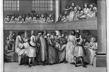 american history usa a w speaks at an 18th century quaker meeting