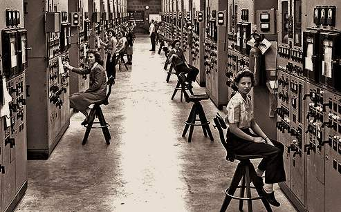 Calutron Operators, Oak Ridge, 1945