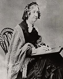 Catharine Beecher, a leading theorist on women's roles in 1800s America.