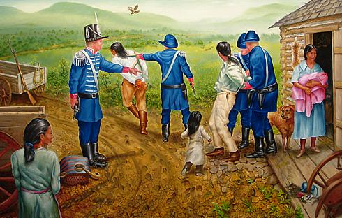 american history usa a cherokee eviction in 1838