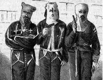 Members of Ku Klax Klan arrested in Mississippi, 1871