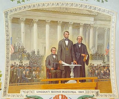 Abraham Lincoln, slavery, second inauguration, civil war, speech