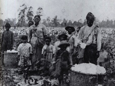 Field slaves in Georgia