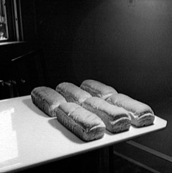 Early 1900s loaves of bread