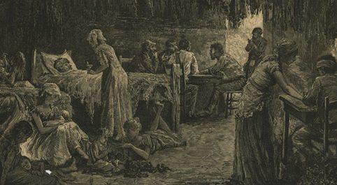 Tenement Life Harper's (1881)