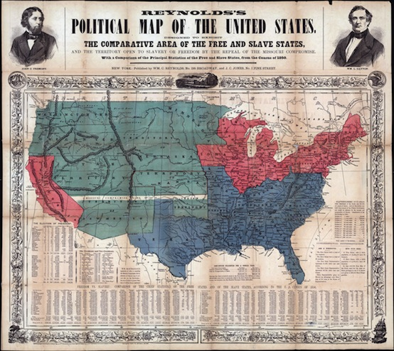 The United States in the 1850s