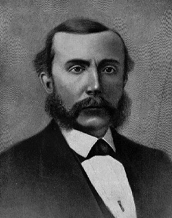 Rockefeller with Sideburns, 1860s
