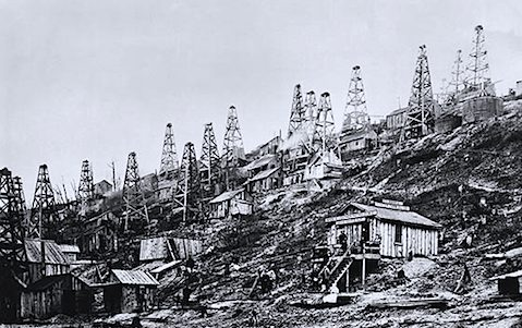 Pennsylvania Oil Fields